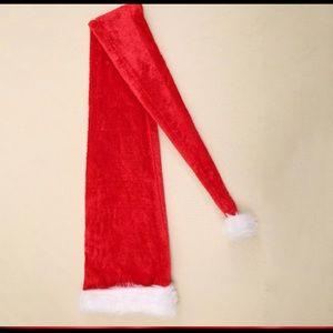 Christmas Santa Claus 5 feet Long Red Hat